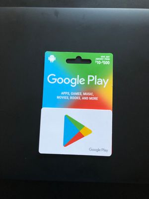 Google play $180 card for $170 for Sale in NJ, US