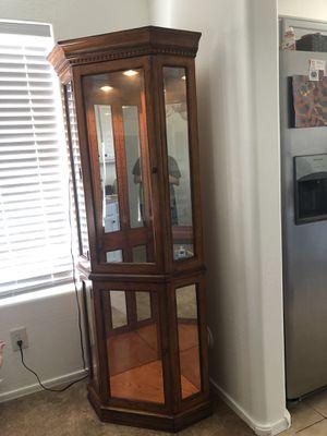 Corner cabinet for Sale in Queen Creek, AZ