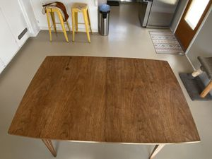 Mid Century Modern Dining Table for Sale in Visalia, CA