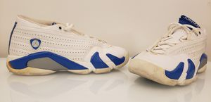 Youth Size Air Jordan 14 Retro (GS) Neptune Blue, Size 4.5Y 31256-141 for Sale in San Diego, CA