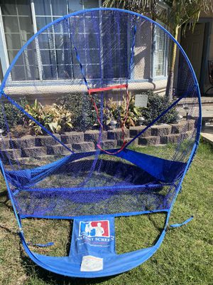 Baseball / softball batting cage net instant screen for Sale in Oakley, CA