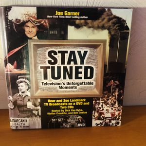 """""""STAY TUNED, Television's Unforgettable Moments"""" book w/2 CD's (never opened) by the New York Times Beat-selling author-JoeGarner 1992 for Sale in Saint Albans, WV"""
