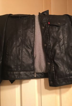 Leather Levi's Jacket for Sale in Owings Mills, MD