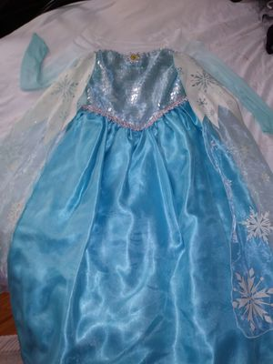 Elsa dress (costume) for Sale in Los Angeles, CA