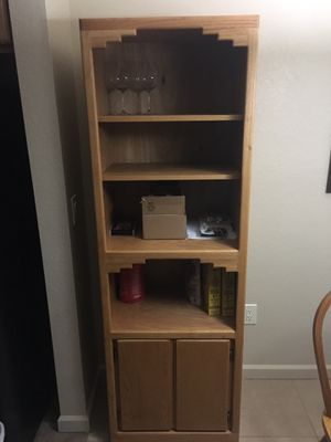 Wooden shelving / shelf / pantry for Sale in Tucson, AZ