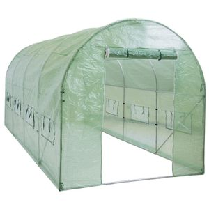 15x7x7ft Walk-In Greenhouse Tunnel Tent w/ Roll-Up Windows Home Garden Decor for Sale in Los Angeles, CA