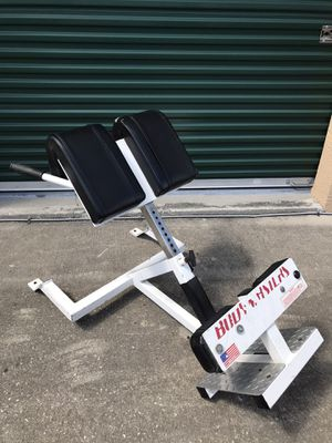 GHD / BACK / ROMAN CHAIR / HYPER EXTENSION BENCH for Sale in Wesley Chapel, FL
