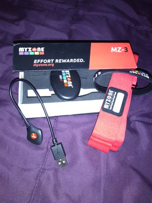 My Zone MZ-3 physical activity belt for Sale in San Jose, CA