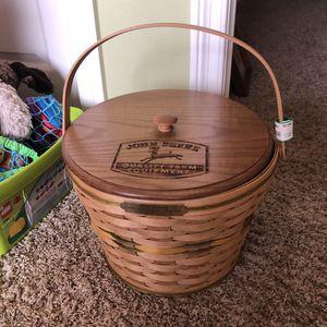 Longaberger Limited Edition Collectible rJohn Deere Heritage Basket for Sale in Oceanside, CA