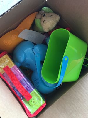 Box of toys for Sale in Houston, TX