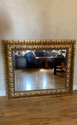 Gold Decorative Mirror for Sale in Puyallup, WA