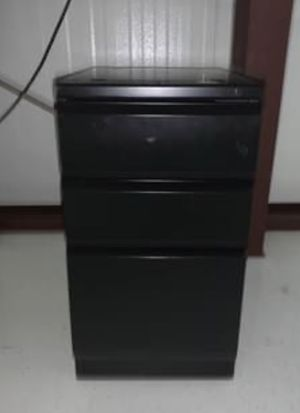 Small black filing cabinet for Sale in Palm Shores, FL