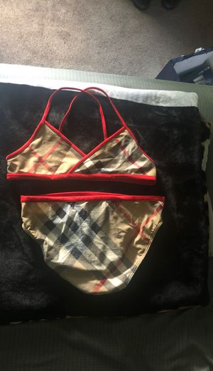 Girls Burberry 2 pc swimsuit for Sale in Catonsville, MD