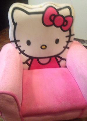 Hello Kitty Upholstered Toddler chair for Sale in Mendon, MA