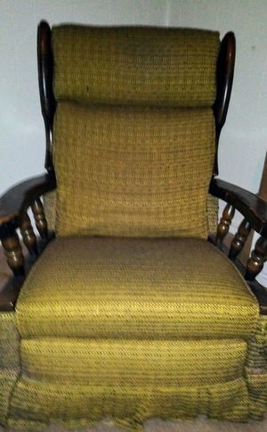 Wooden ,Reclining, Vintage rocking chair for Sale in Lynchburg, VA
