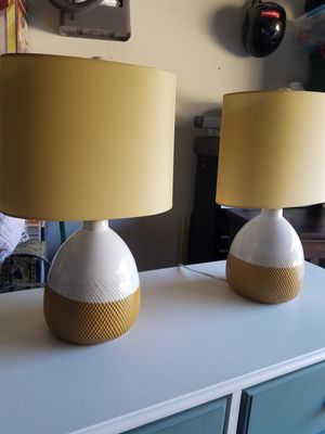 Cute small lamps $30 for Sale in Tualatin, OR