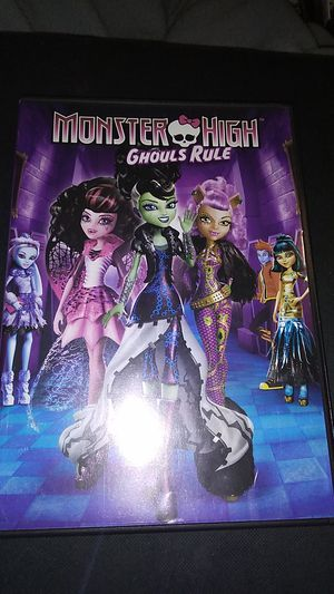 Monster high ghouls rule for Sale in Sprouses Corner, VA