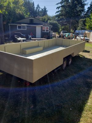 19' Utilty/Landscaping/Toy Hauler Trailer for Sale in Tacoma, WA