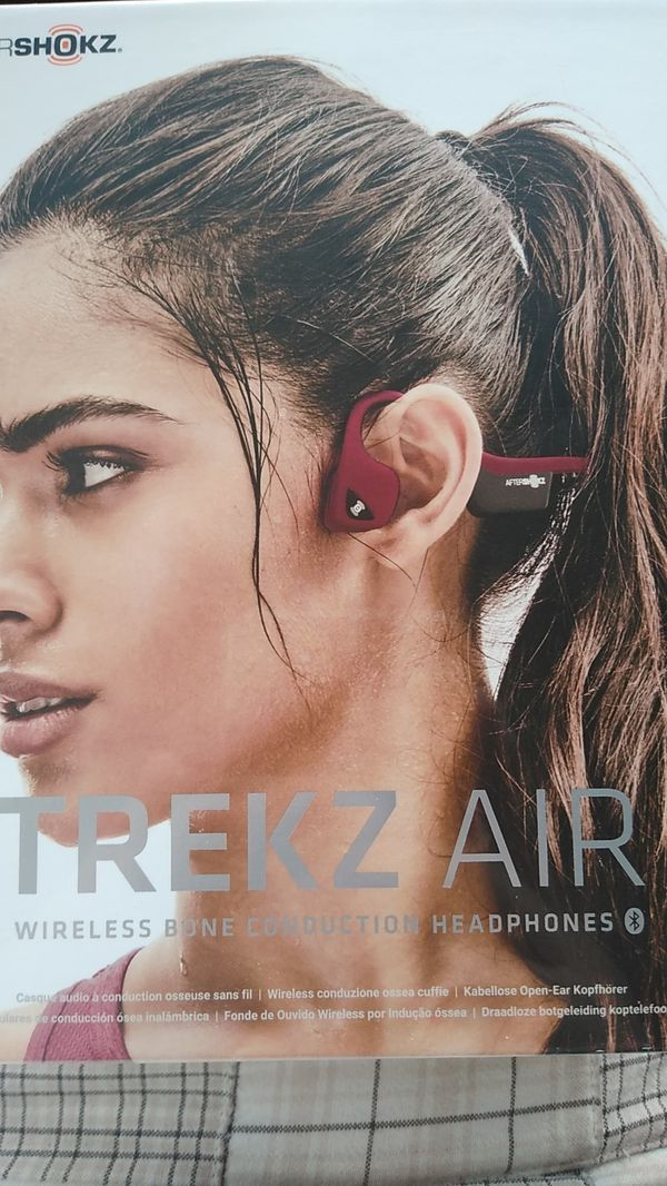 Trekz Air wireless bone conduction headphones
