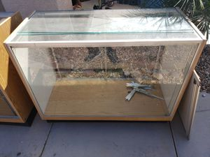 One lighted display case with sliding door for Sale in Tolleson, AZ