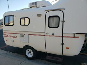 Hard to find 2008 Scamp 19' fifth wheel camper with new adj. hitch fits most trucks+More(please read description) for Sale in Sun City, AZ