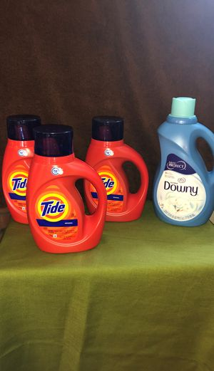 Laundry detergent and fabric softener for Sale in Newington, CT
