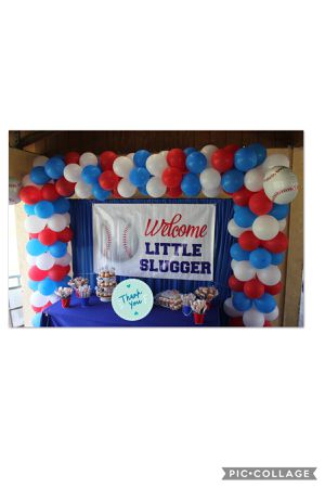 Backdrop and Balloonarch for Sale in Miami, FL