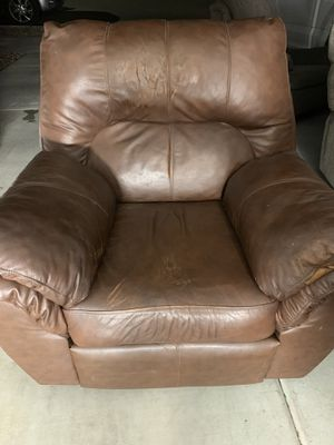 Leather Recliner for Sale in Surprise, AZ