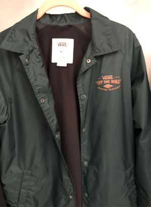 "Vans ""OFF THE WALL"" jacket Small for Sale in North Charleston, SC"