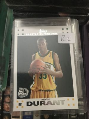 Kevin Durant topps rookie basketball card for Sale in Colorado Springs, CO