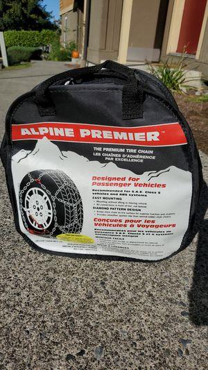 Alpine Premier Tire Chains, 1540 for Sale in Mountlake Terrace, WA