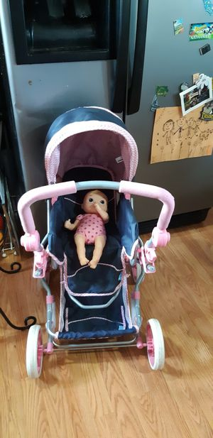 Stroller and doll for Sale in Tacoma, WA