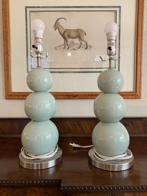 Pair of Lamps for Sale in Lakeland, FL