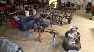 Buggy, rail powered with street bike motor for Sale in Gresham, OR