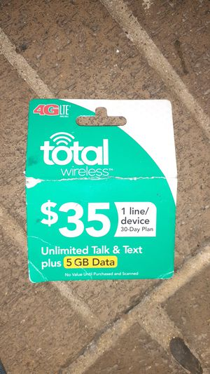 Total wireless card for Sale in Amarillo, TX