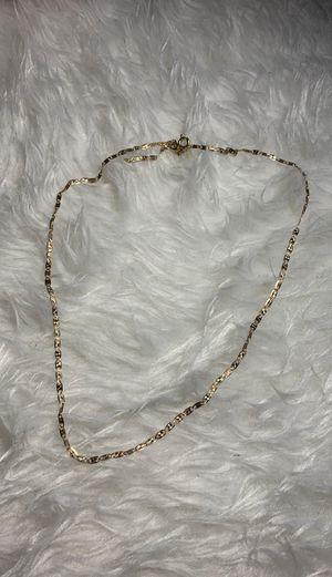 Tri-Valentino Gold necklace for Sale in Grambling, LA