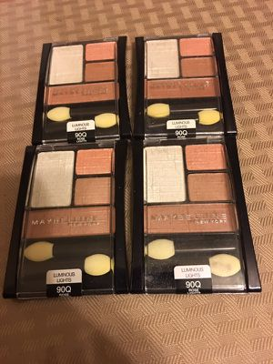 4 New maybelline Eyeshadow for Sale in Centreville, VA