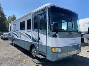 2001 35FT Holiday rambler Ambassador Class a diesel pusher one slide 27k mikes one owner for Sale in Tacoma, WA