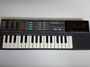 "CASIO PT-87 Music 16"" Keyboard - 32 Mini Key Piano - 1980's for Sale in Las Vegas, NV"