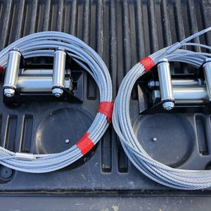 Warn Winch Steel Braided 7x19 Cable & Plow Roller Fairlead - VRX Series Winch for Sale in Bonney Lake, WA