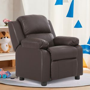 Deluxe Kids Armchair Recliner Headrest Sofa W/ Storage Arms for Sale in Diamond Bar, CA