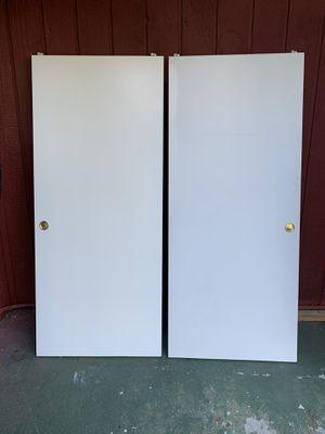 """Closet doors 🚪 36""""/80"""" for Sale in Bellevue, WA"""