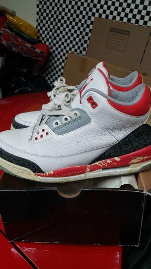 3s retro Fire red Jordan for Sale in Ontario, CA