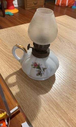 Antique miniature oil lamp for Sale in St. Louis, MO