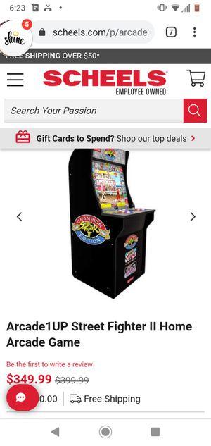 Street fighter arcade game for Sale in San Gabriel, CA