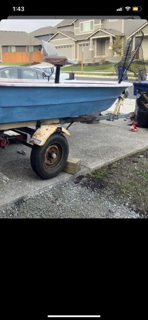 Boat trailer w/clean title for Sale in Stanwood, WA