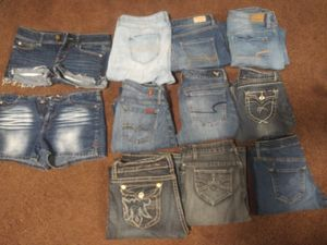 Lot of jeans brand name for Sale in Everett, WA