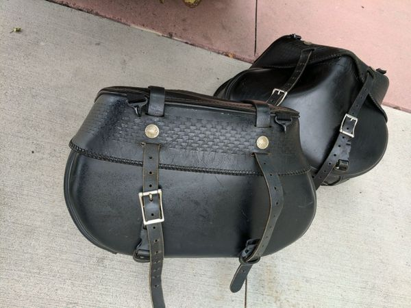Motorcycle Saddle bags (used)