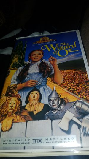 The Wizard of Oz classic vhs for Sale in San Fernando, CA