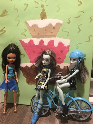 Monster dolls for Sale in Glendale, CA